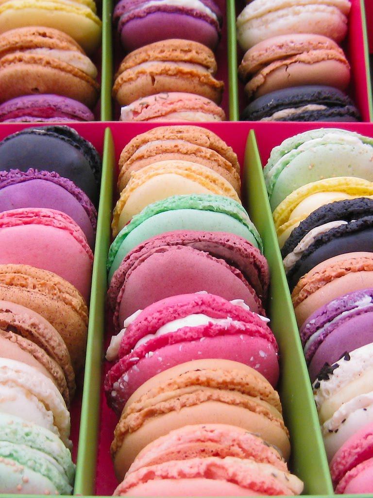 Dima sharif: macarons!