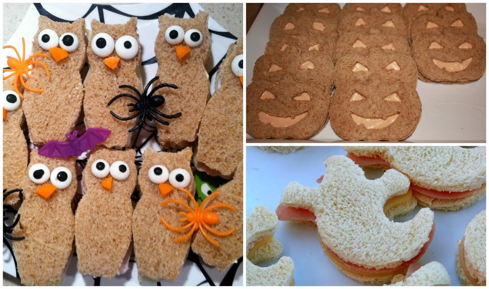 Handbags To Change Bags: Children's Halloween Party Food Ideas