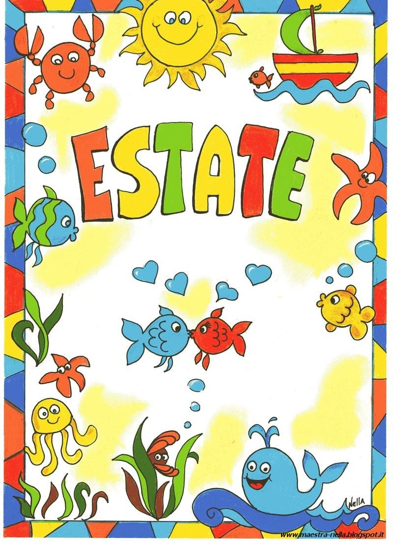 Maestra nella copertine colorate for Maestra valentina estate
