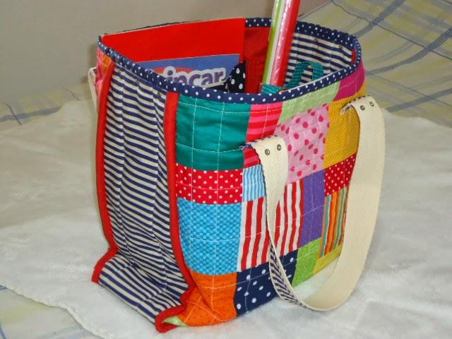 sacola de patchwork