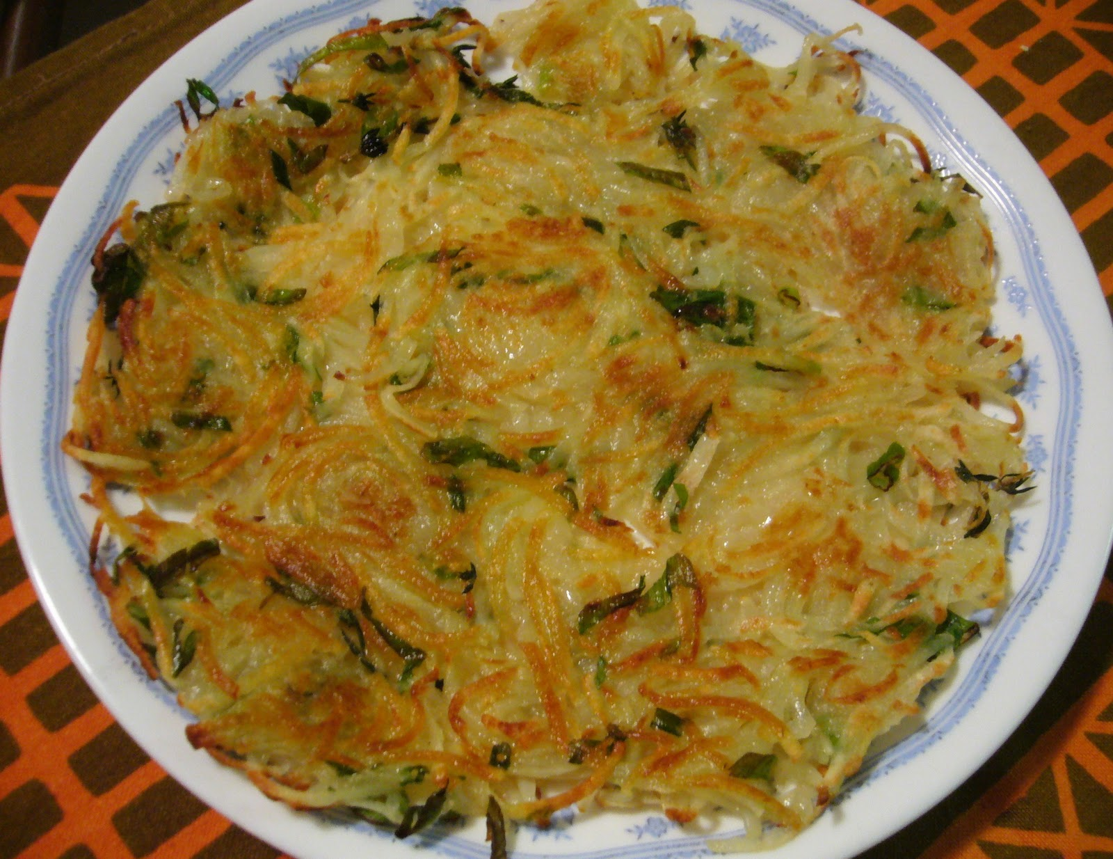 Low fat potato rosti recipe