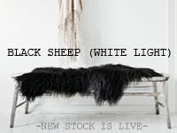 Black sheep white light till 6th January