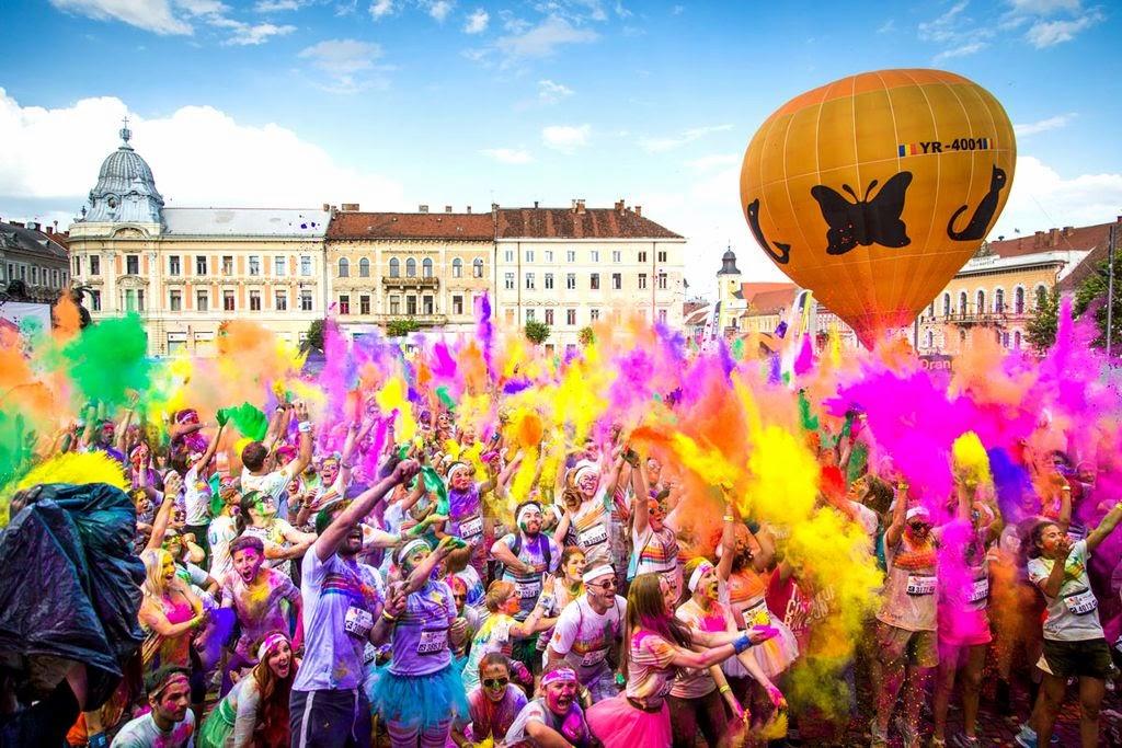 Invitatie la culoare si bucurie pe malul marii - The Color Run Mamaia, 26 iulie 2014
