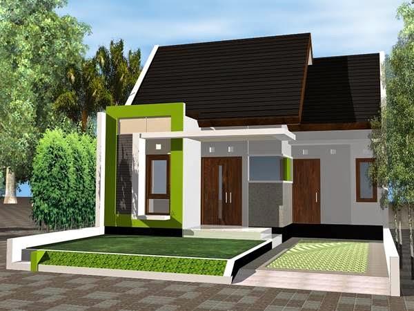 Contoh Desain Rumah Minimalis Type 54 gambar 8