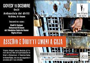 Assedio e diritti umani a Gaza