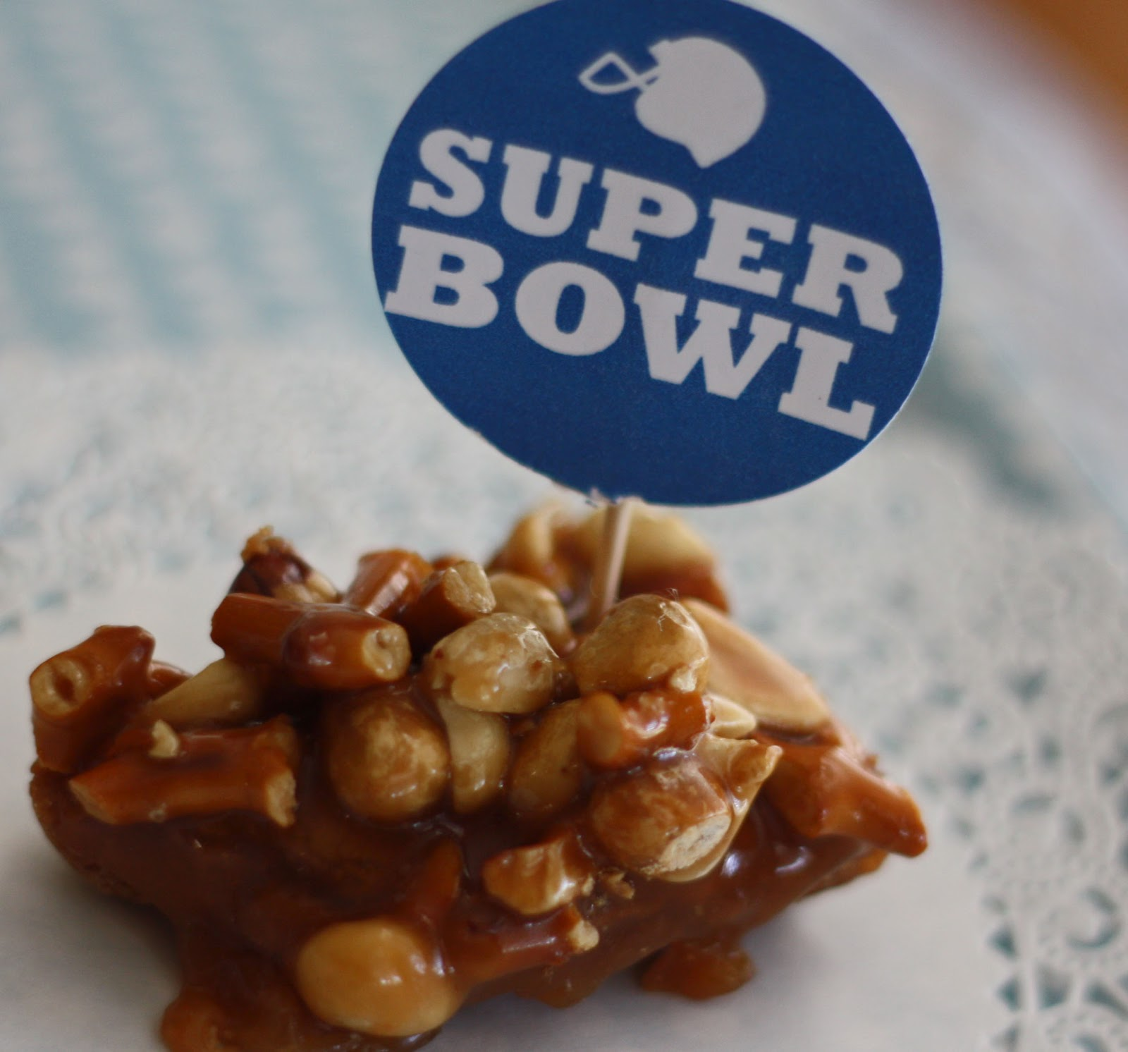 Periwinkle--Good Times!: Super Bowl Yummies