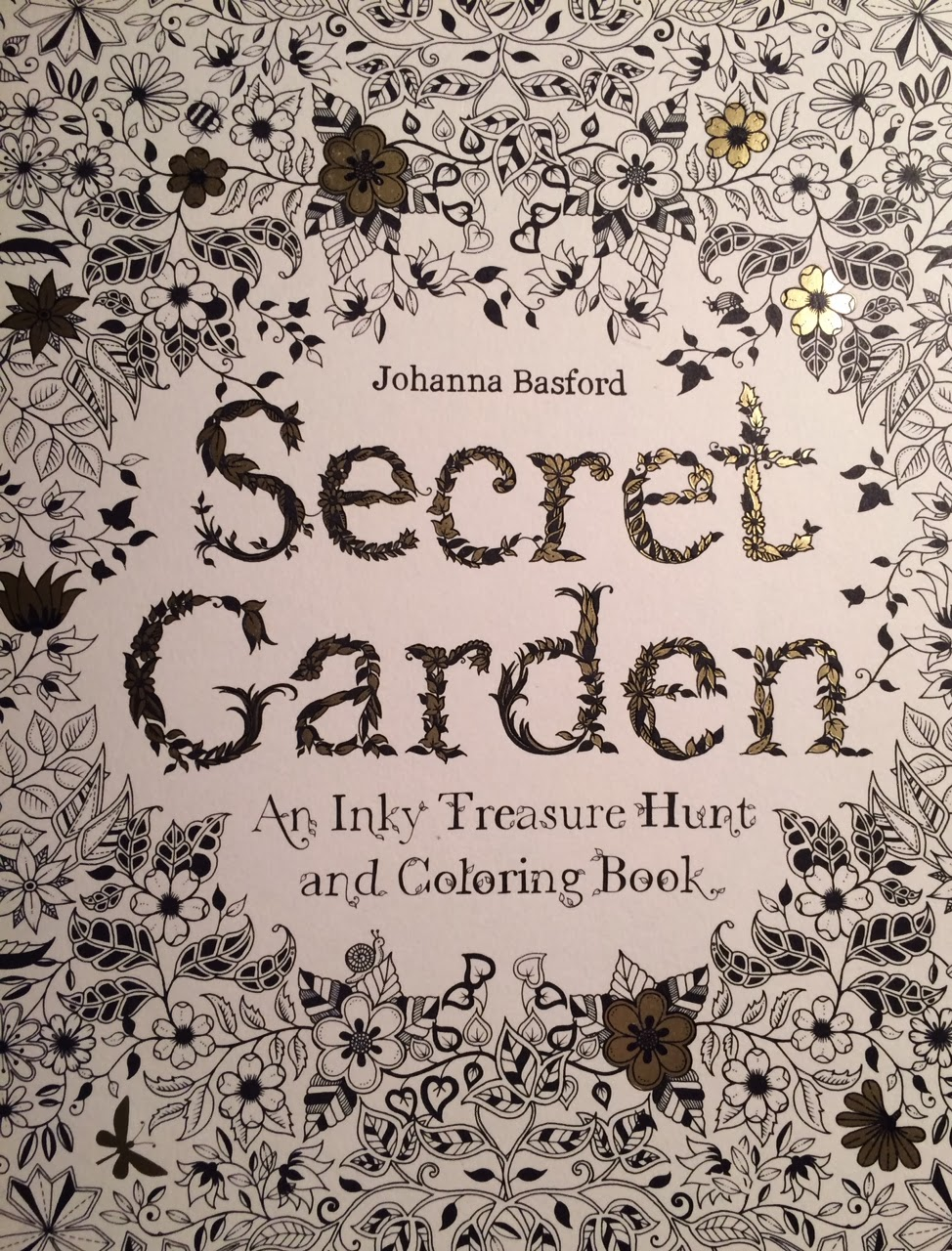 Scribble Babble: Things I Love Thursdays: Secret Garden Coloring Book