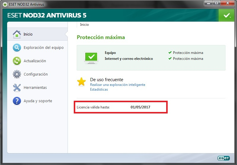 Claves Eset Nod32 5 Y 6 Usuario Y Contrasena 4 | Apps Directories