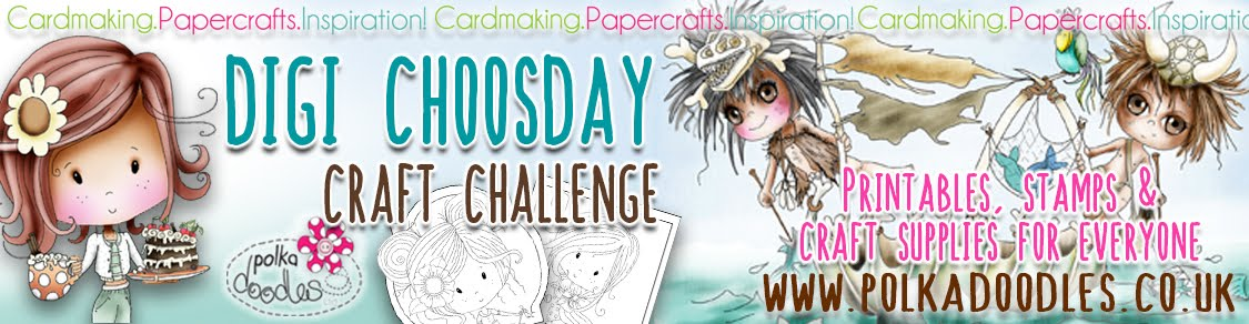 Polkadoodles Digi Tuesday Craft Challenge