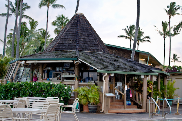 Maui Hawaii Gazebo Cafe