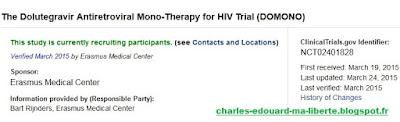 Iccarre DOMONO vih HIV cure Dolutegravir NCT02401828 thebody Hypodolu