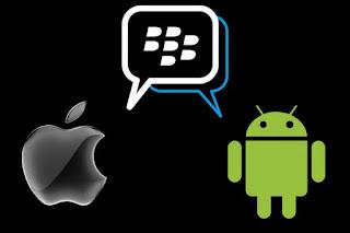 Daftar BBM for Android dan iOS