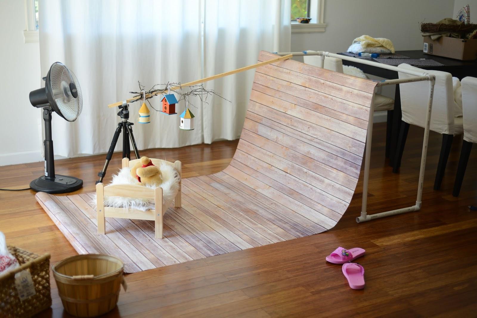hello wesley photo studio setup