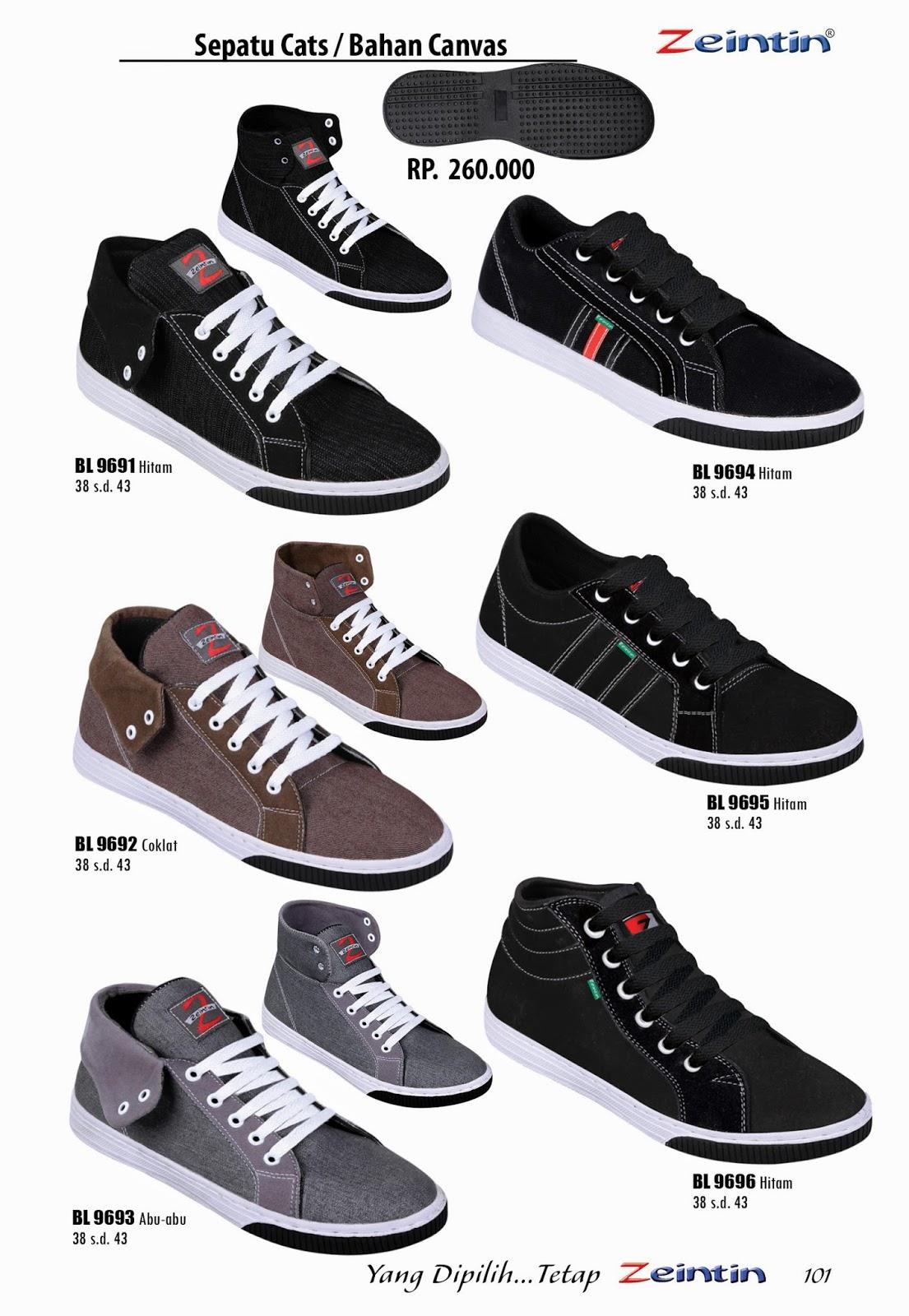 Sepatu Cats Pria Zeintin