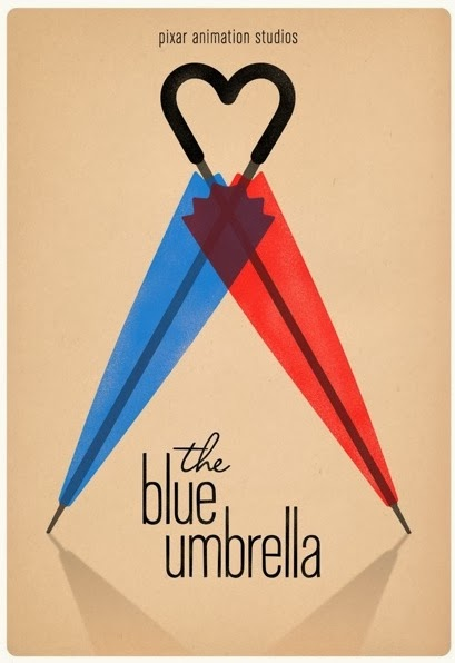Blue Umbrella short