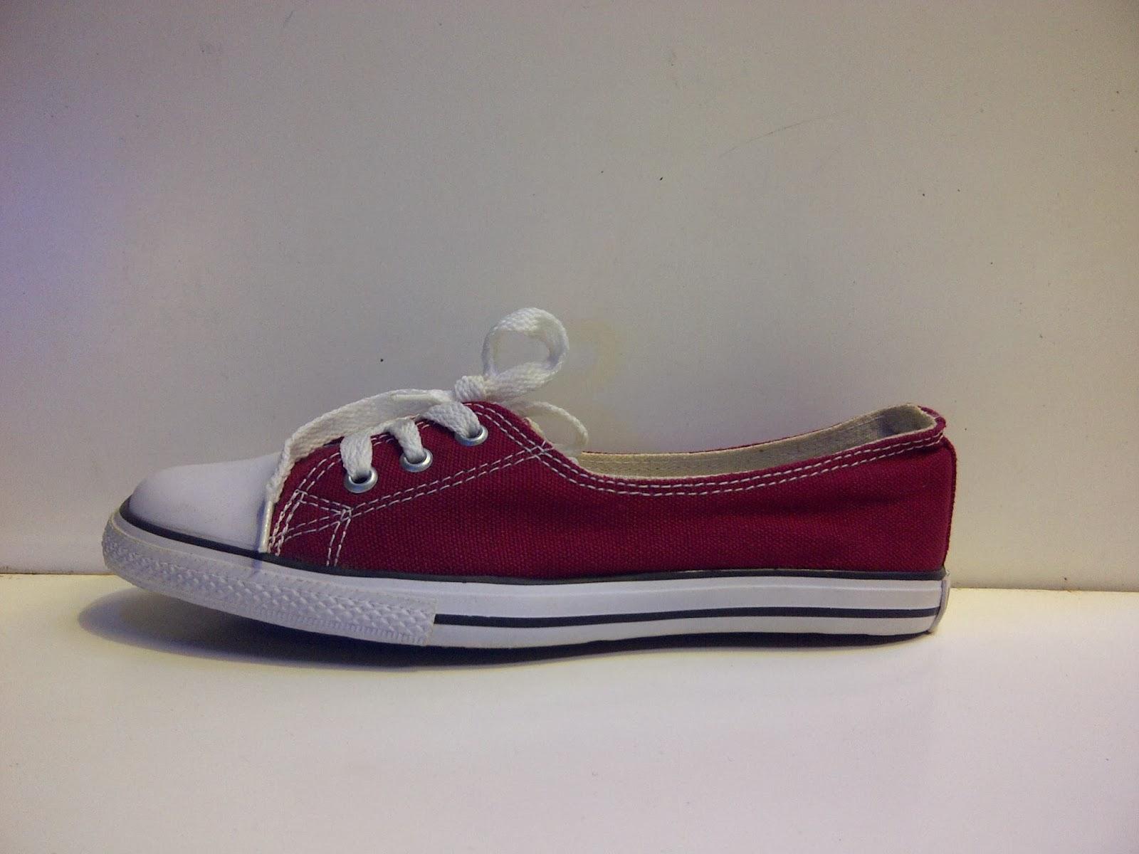 Sepatu Converse Slop Women's merah murah