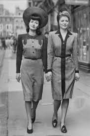 Fashion In 1940S