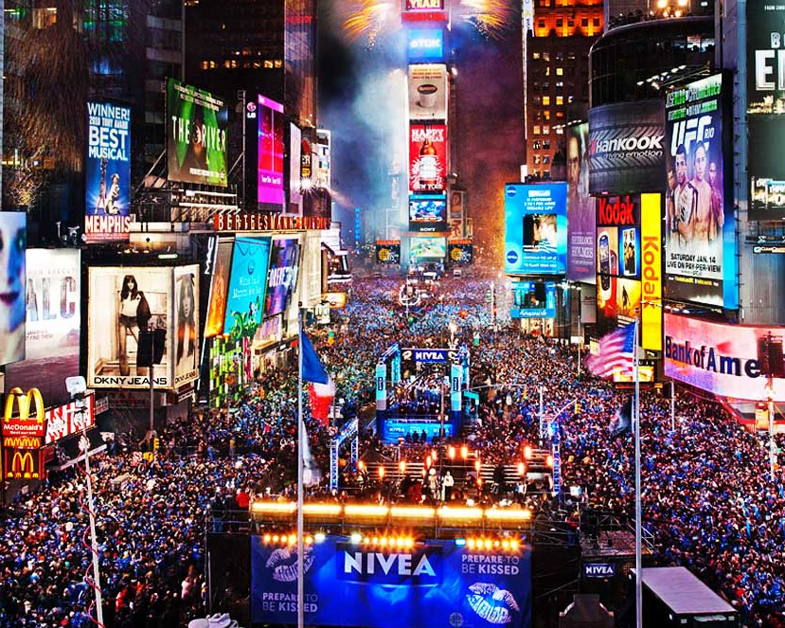 New Year Celebration Times Square