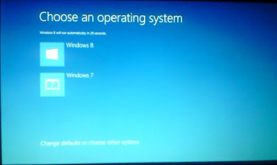dual boot windows 7 dan windows 8