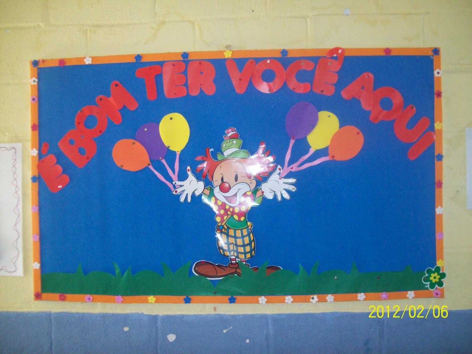 """decoracao de sala aula educacao infantil : decoracao de sala aula educacao infantil:EDUCAÇÃO INFANTIL CRIATIVA: DECORAÇÃO PARA SALA DE AULA """"CRECHE"""