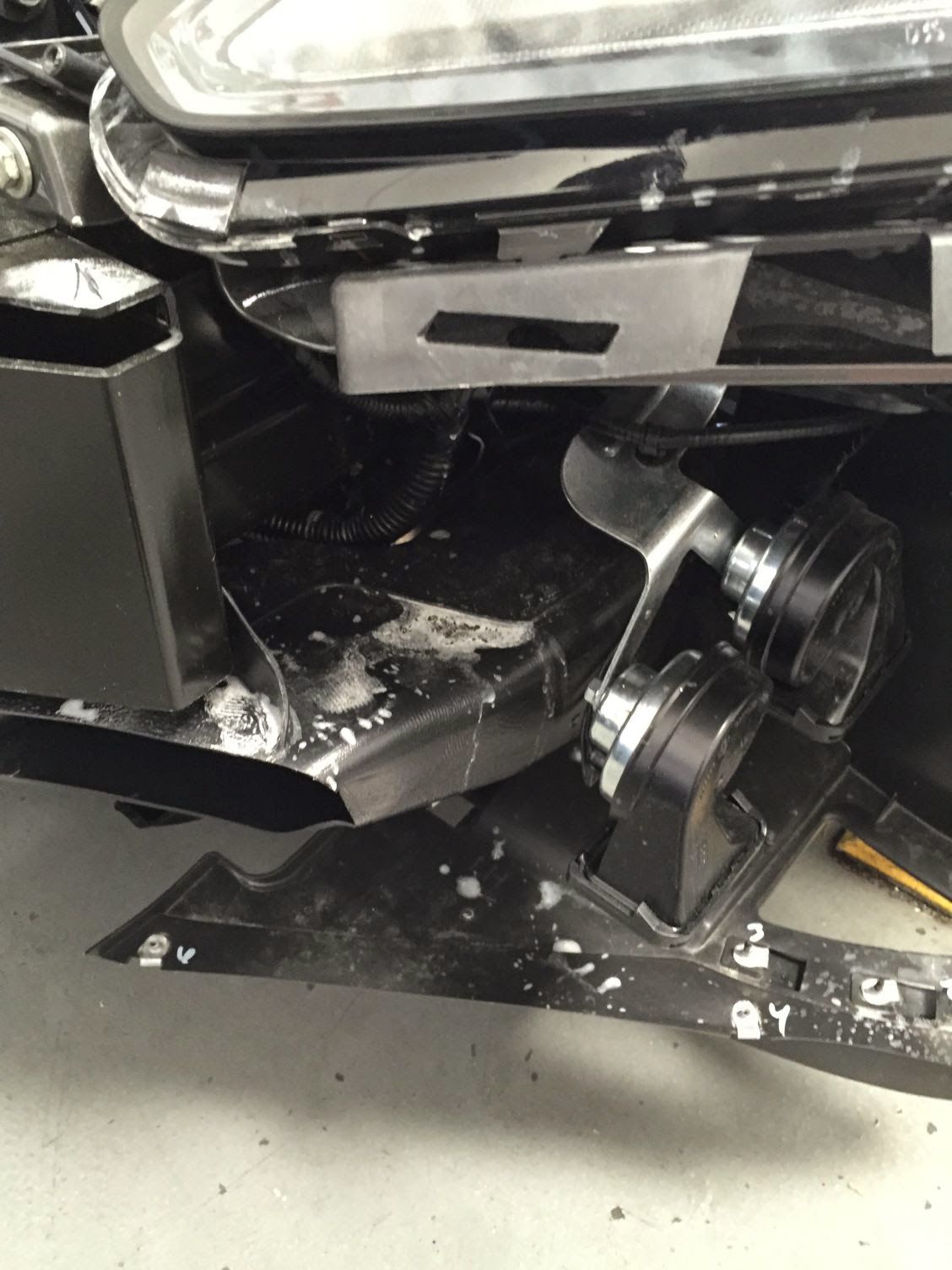 Courtesy Dealers Deliver Damaged 2015 Corvette C7 Z06 Cars To Stick Diagram For The Gm 8l90 Chances Of Or Dealer Assuming Responsibility Condition This Car And Addressing Pretty Extensive Damages Are About Same As Bowling