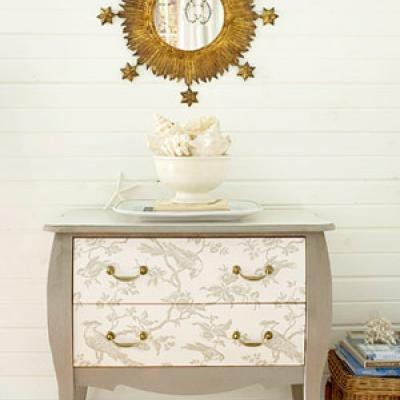 Good style dress up your dresser - Papel para decorar muebles ...