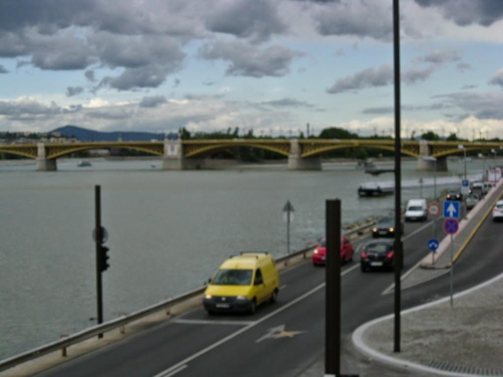 As margens do Rio Danúbio em Budapeste