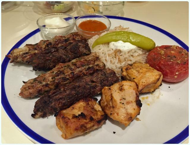 Comptoir Libanais, Manchester - Mixed Grill