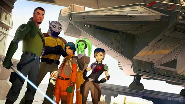 Star Wars Rebels Comic Con
