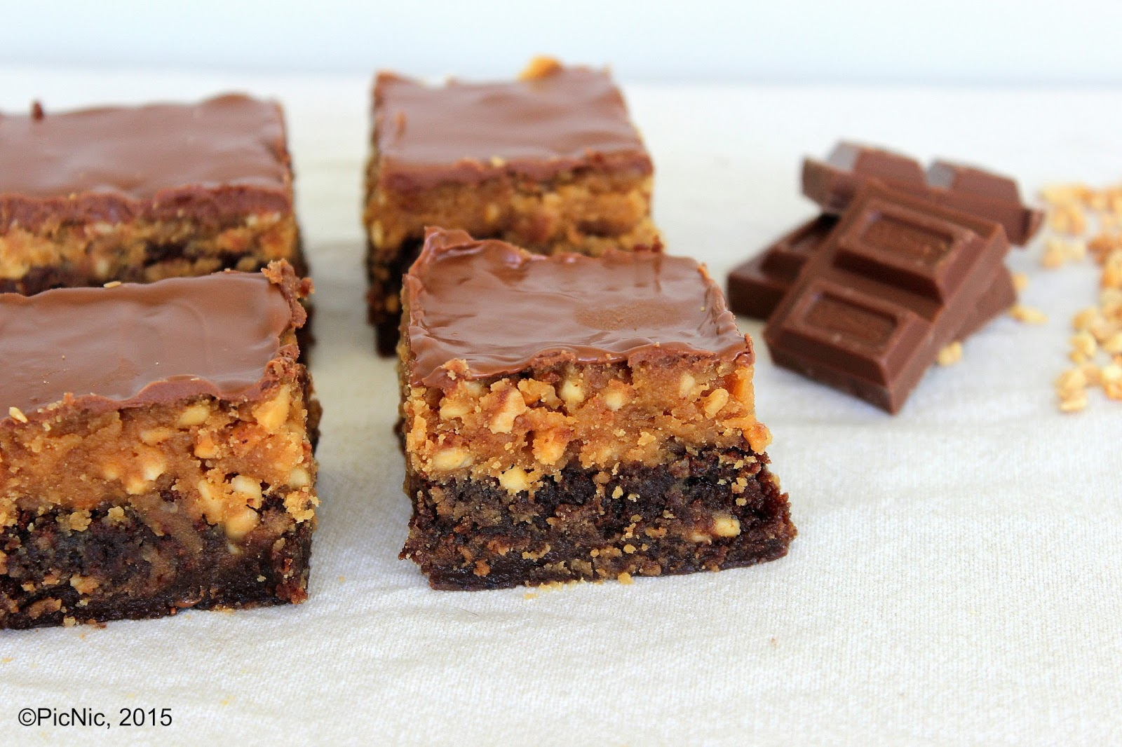 PicNic: Chocolate and Peanut Butter Brownies