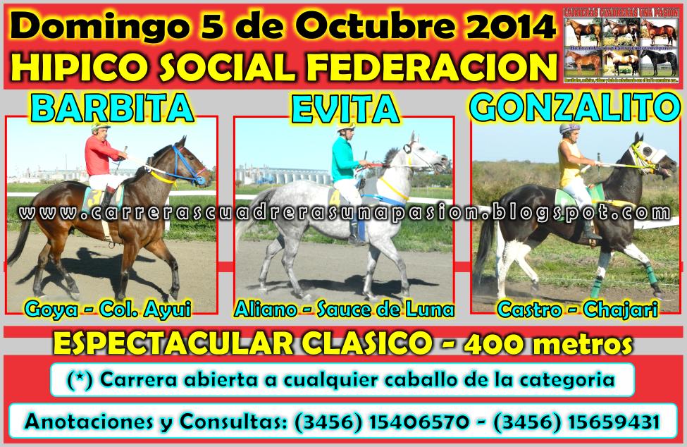 FEDERACION - 05.10.2014 - CLASICO