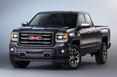 GMC Sierra All Terrain Extended Cab (2014) Front Side