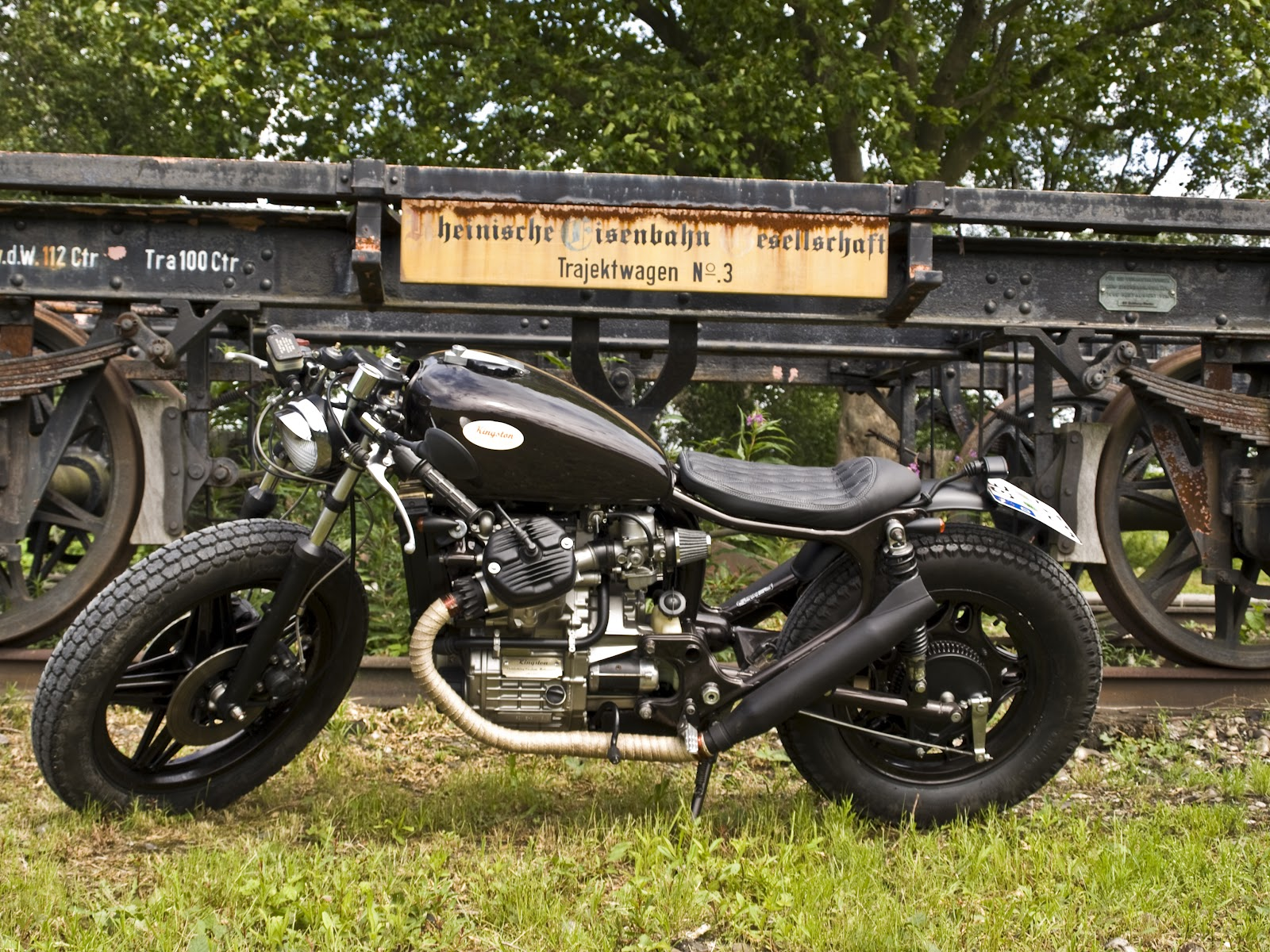 Milchapitas Kustom Bikes Honda Cx500 By Kingston