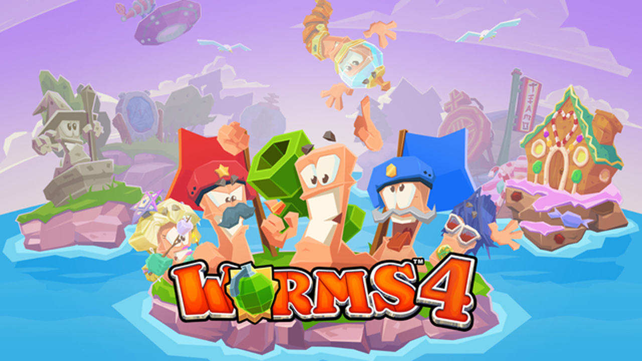 Worms 4 Gameplay IOS / Android