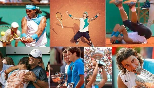 Roger Fererer, Rafa Nadal, Roland Garros