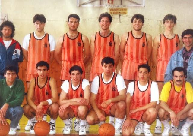 """""""Ταξίδι στο παρελθόν Νοέμβριος του '93:Α.Ο.Χ.-ΑΠΟΛΛΩΝΑΣ (Αγώνας Μπάσκετ)"""