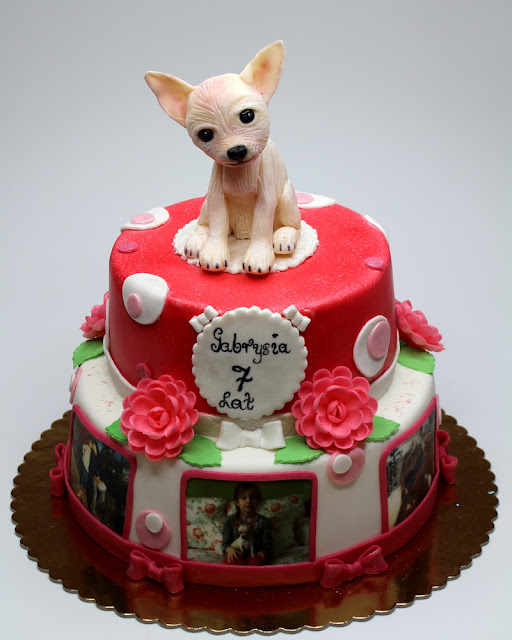 Chihuahua Birthday Cake London