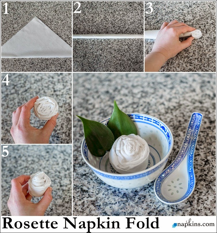 Napkin Folding Tutorials