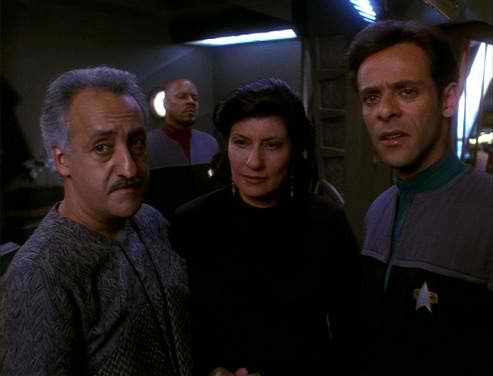 Elegant (Captain Sisko Looks On The Bashirs.)  Dr Bashir I Presume