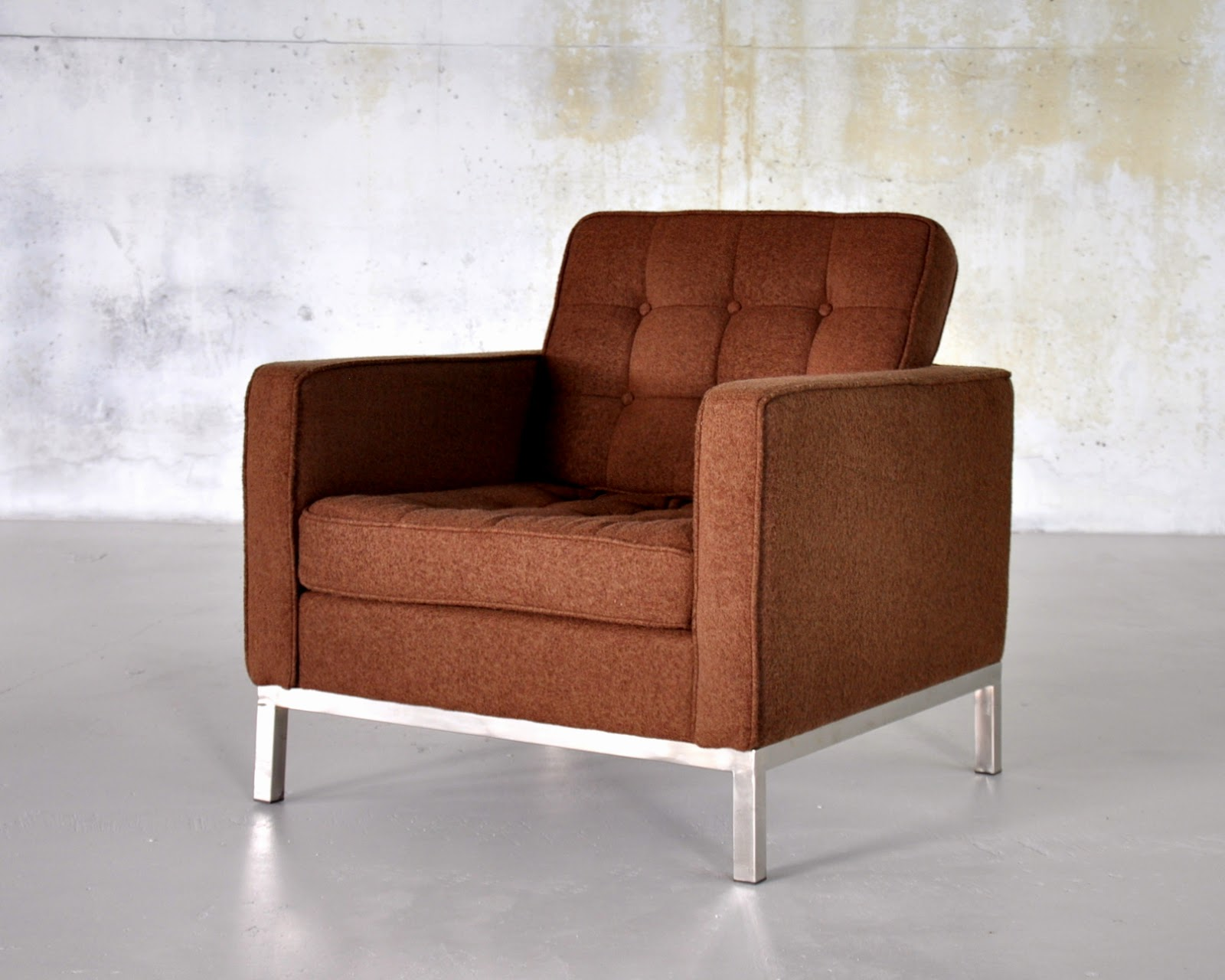 select modern florence knoll style lounge chair