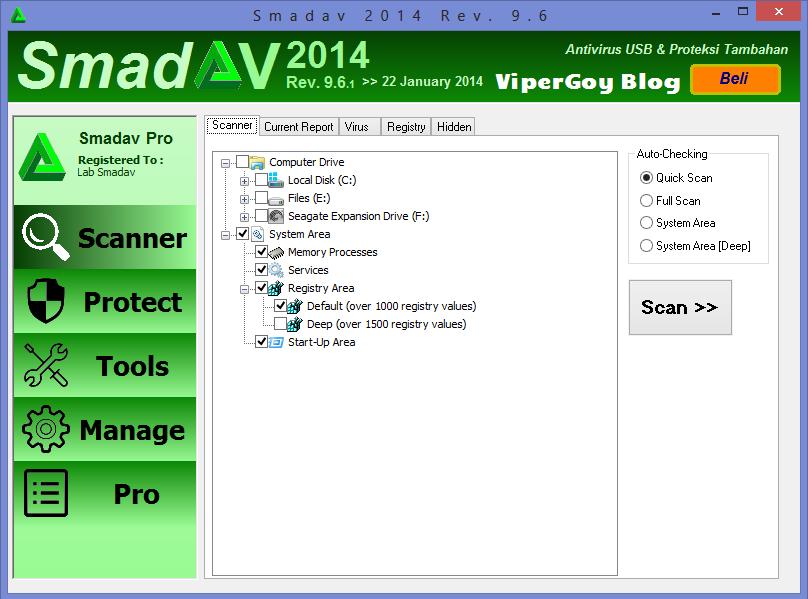 Kumpulan Tampilan Foto Antivirus Smadav 9.6 Full Version 2014