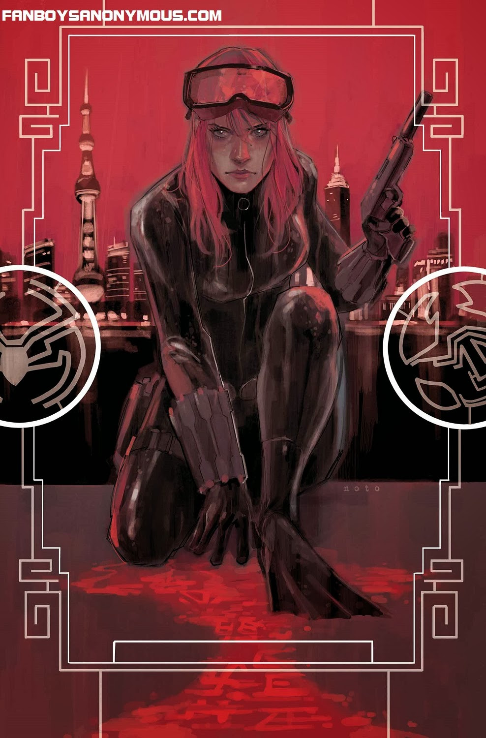 Punisher and The Activity writer Nathan Edmondson tackles ongoing Black Widow series