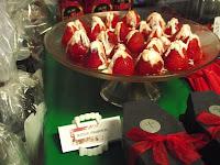 True Blood Party Food Bleeding Strawberries @ Northmans Party Vamps