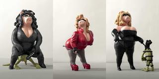 muppet show, kermit the frog, miss piggy, dominatrix, femdom, bdsm, emilio rangel, la puta debabilonia