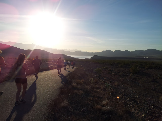 Lake Mead Really Big Free Half Marathon