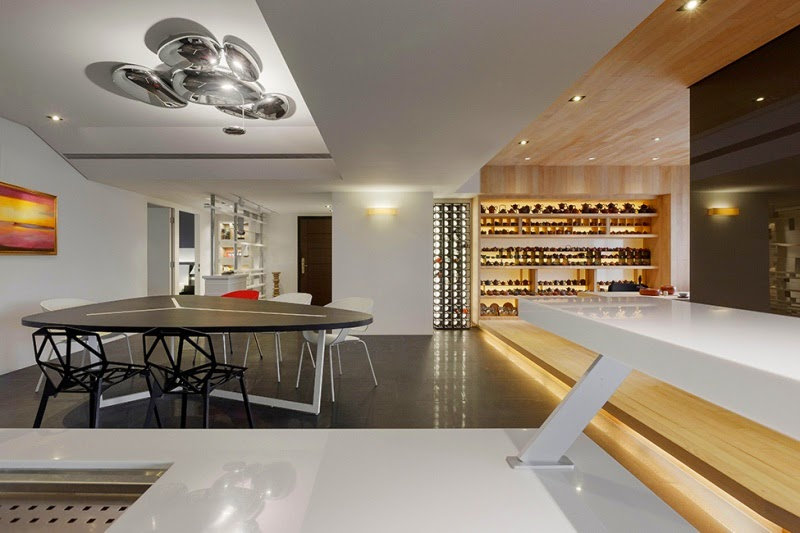 Open Plan Apartment Interior Design Ideas open plan apartment interior design stylish in taipei showcasing