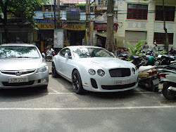 Luxury cars in Vietnam