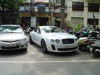 Bentley Continental GT in Vietnam