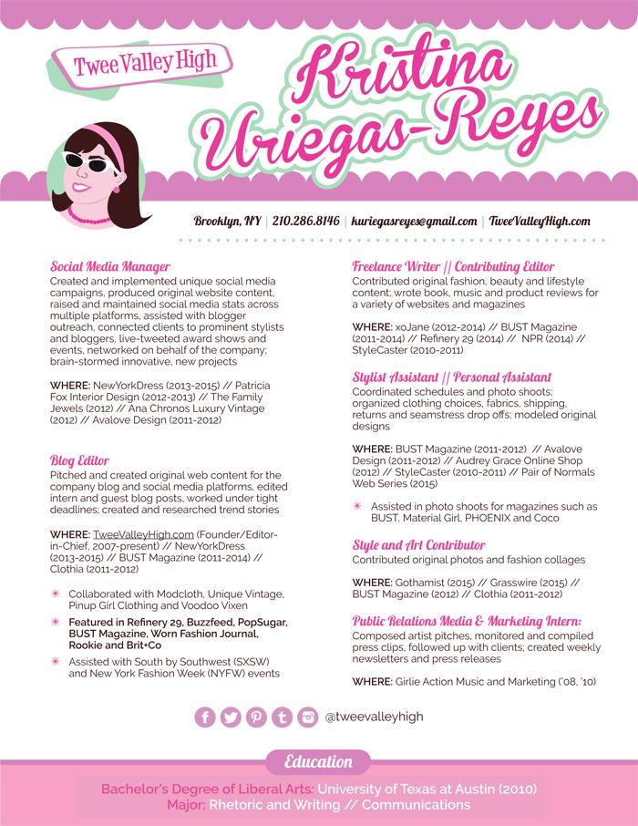 Twee Valley High-Kristina Uriegas-Reyes Resume