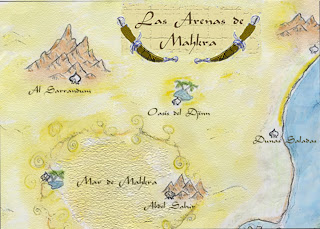 [Crónica] Las Arenas de Mahkra I: Caravana por el desierto